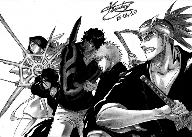Bleach Good Guys (Right)