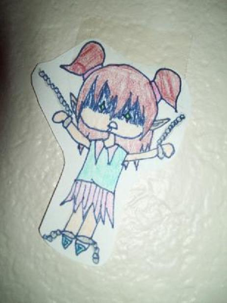 Deranged School Girl [paper child]