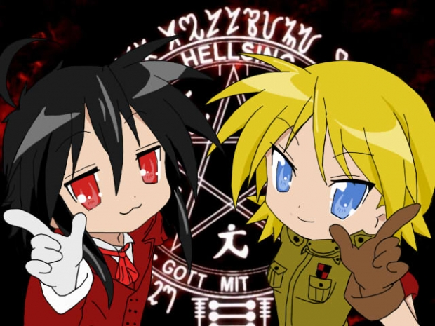 Hellsing Lucky Star~!
