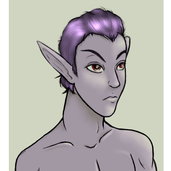 Dark Elf Yamel