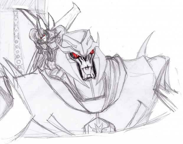 Megatron and Starscream