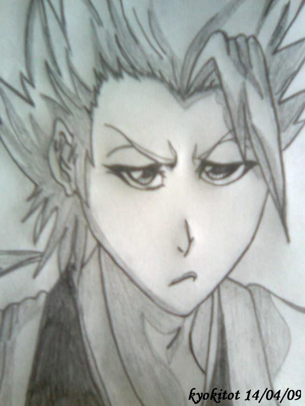 Toushiro Hitsugaya Pencil