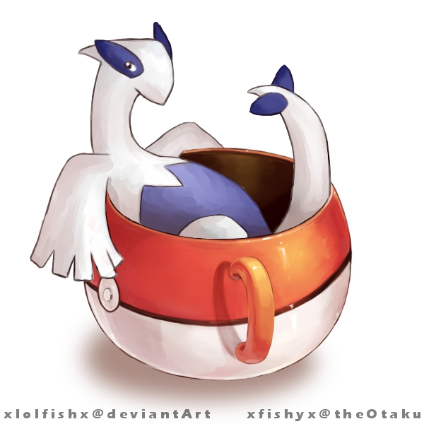 Lugia in a cup