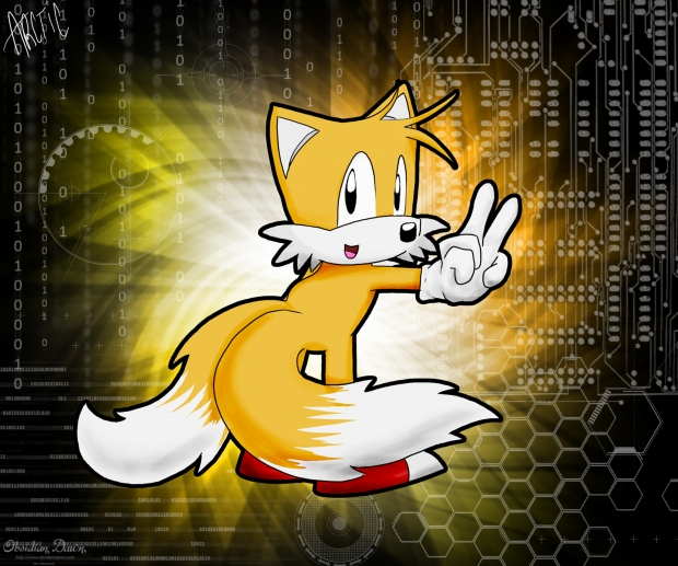 TAILS THE PILOT/FOX