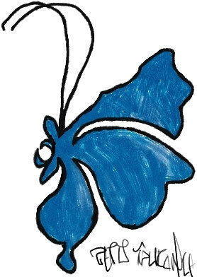 Butterfly (colored)