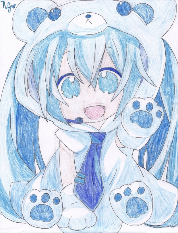 Polar Bear Miku