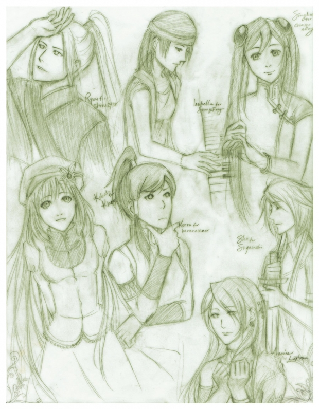 Sketches: dA batch #2
