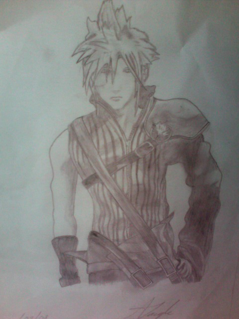 My cloud fanart