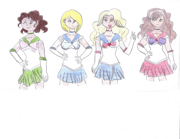 Sailor Gossip Girl