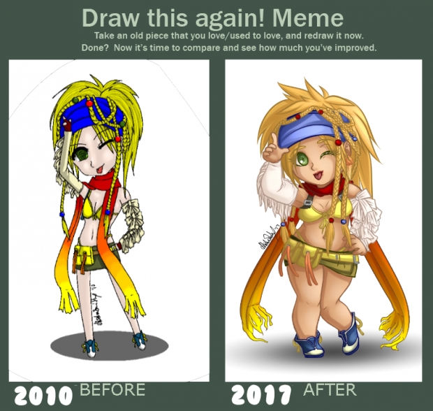 Draw This Again: Chibi Rikku