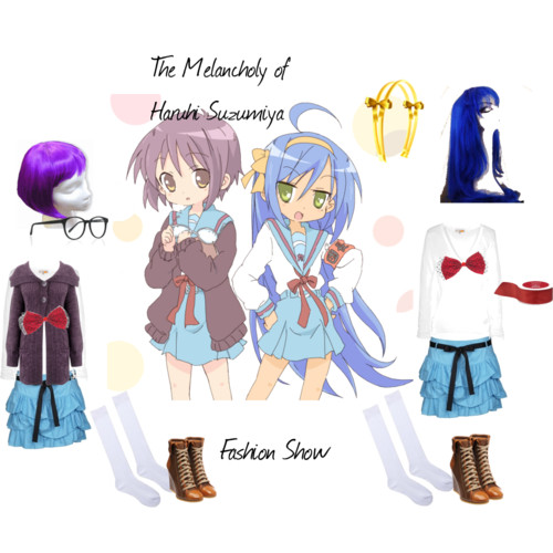 The Melancholy of Haruhi Suzumiya Fashion Show