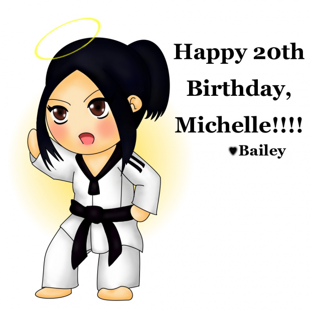 Happy Birthday, Michelle!