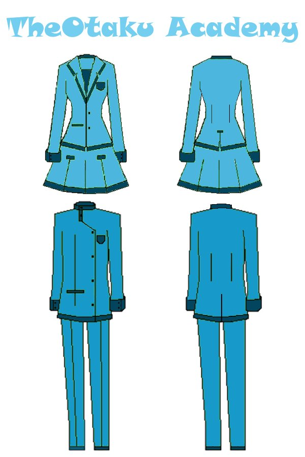 TheO Academy Uniform- blue