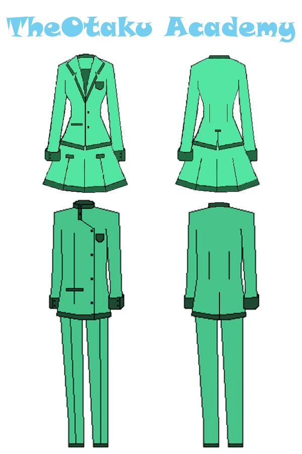 TheO Academy Uniform- green