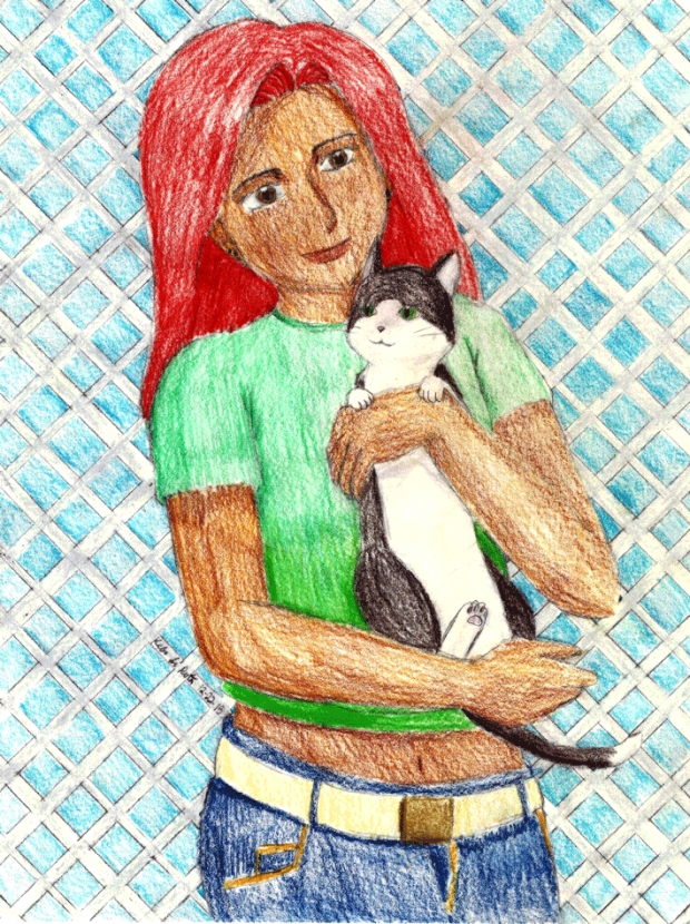 SS: Girl and Cat