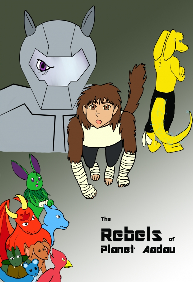 """Rebels"" Movie Poster (WIP)"