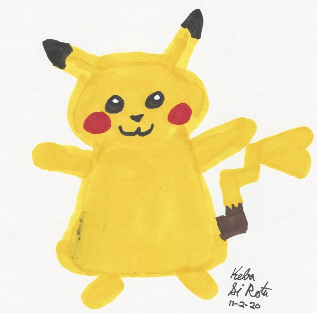 Here, Have a Pikachu