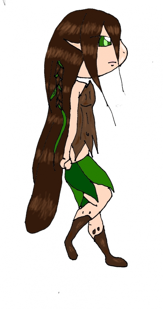 English druid chibi