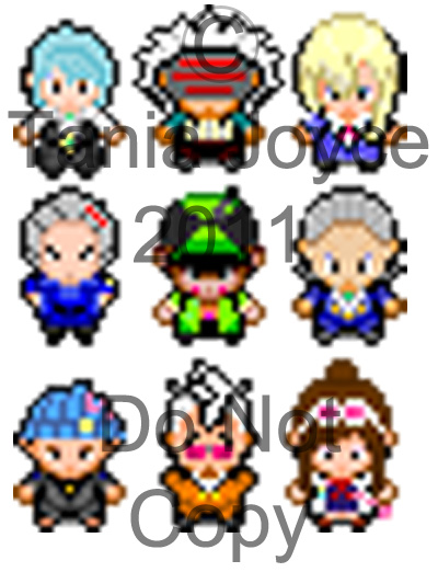 Ace Attorney Pokemon Sprites
