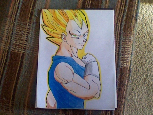 Vegeta in super sayain