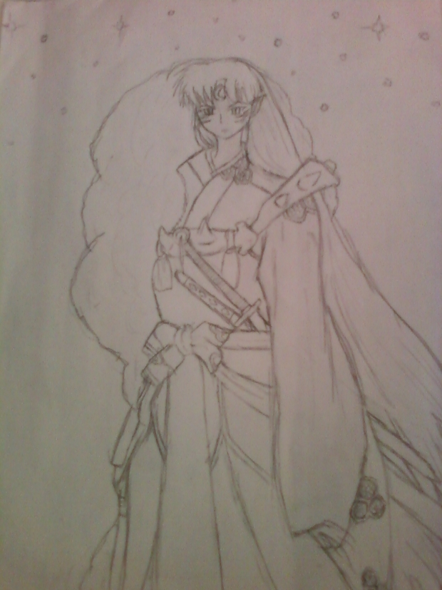 Sesshomaru Sketch