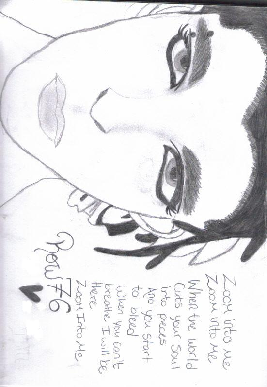 Bill Kaulitz Drawing