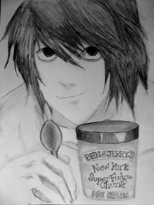 L LAWLIET AND ICE CREAM =D