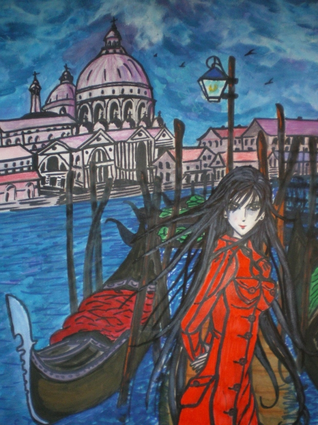 Scenery from neo-venecia, Aria