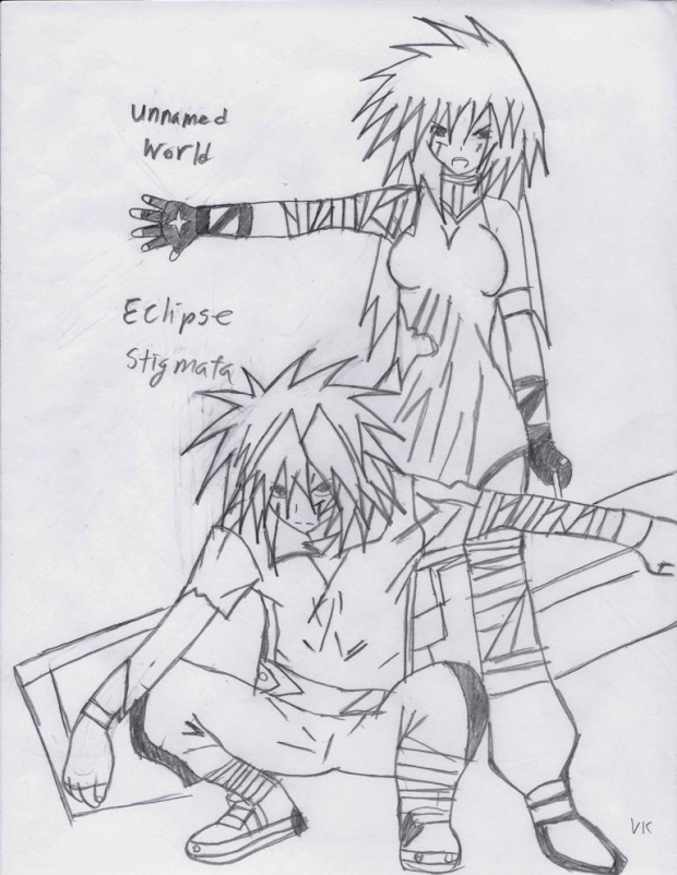 Unnamed World: Eclipse Stigmata (1st Cover!)