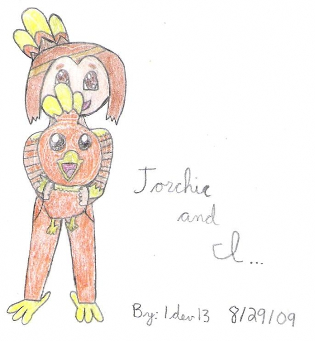 Torchic and I...