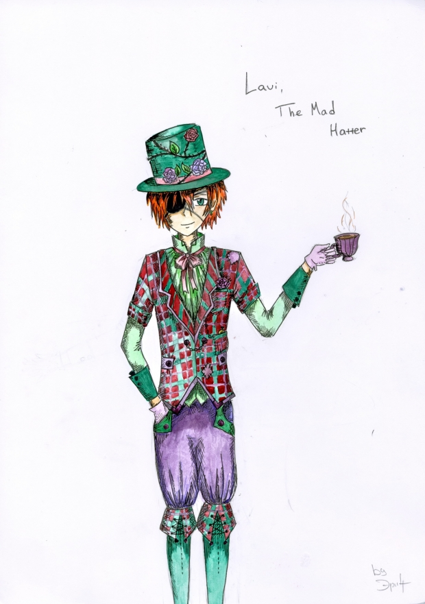 Lavi - the Mad Hatter!