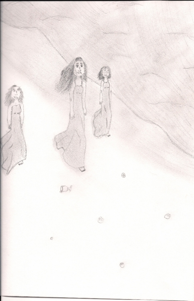 Aphrodite and friends from the book Marked