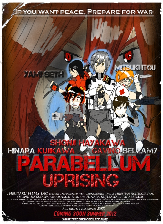 ParaBellum: Uprising Movie poster