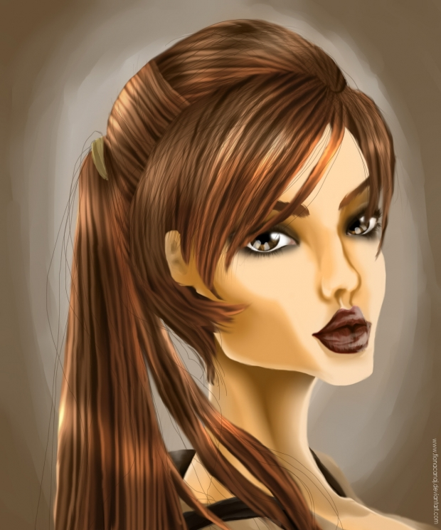 Lady croft portrait(TRL)