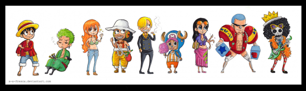 Straw Hat Pirates - 3D2Y