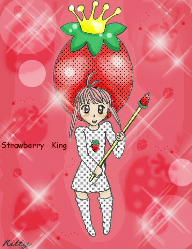 Strawberry King Cosplay