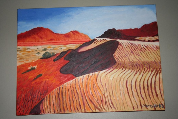 Desert: Oil Painting