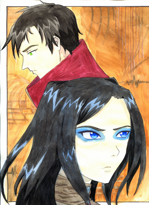 Ergo Proxy - Vincent and Re-L