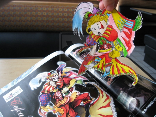 Chibi Kefka  :Paper Child :