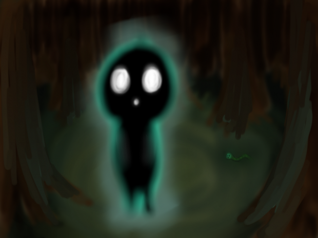Glowy Dark Thingy