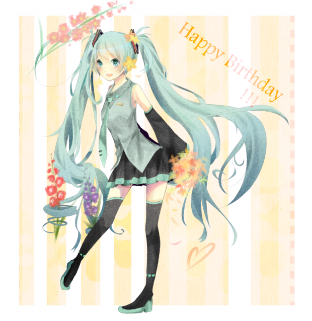 Miku, Happy birthday