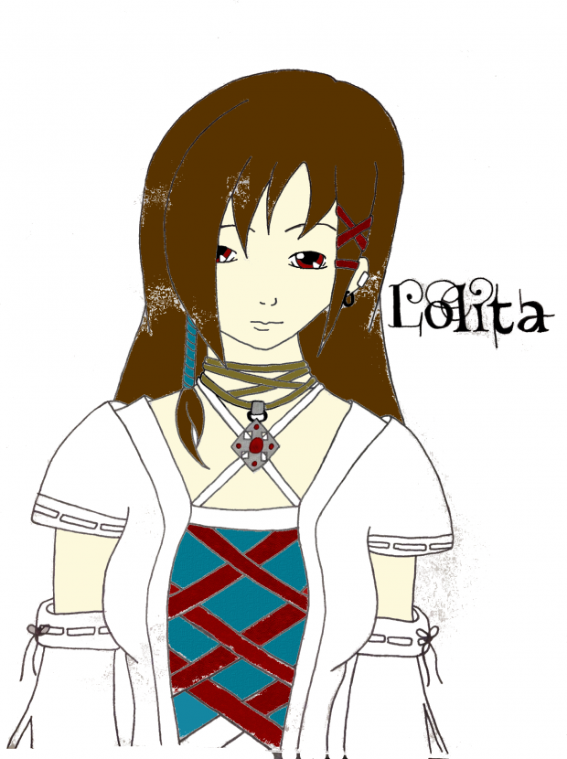 Gothic Lolita (computer edit Inprogress)