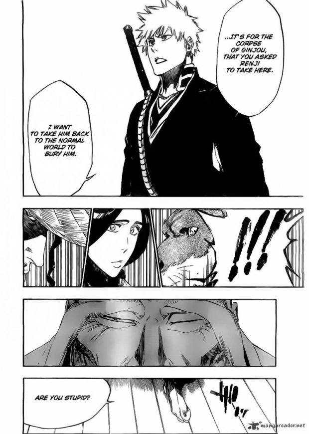 Bleach 479 Page 12 Lineart