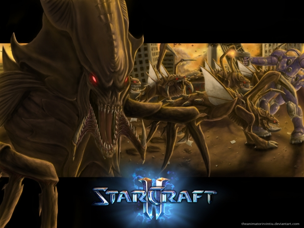starcraft 2 fan art drawing