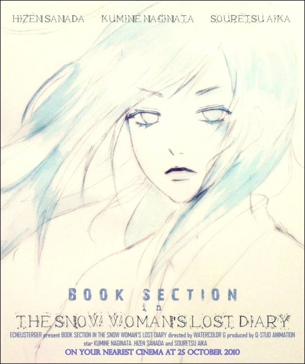 Book Section in The Snow Woman's Lost Diary