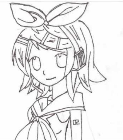 Kagamine Rin [not colored]