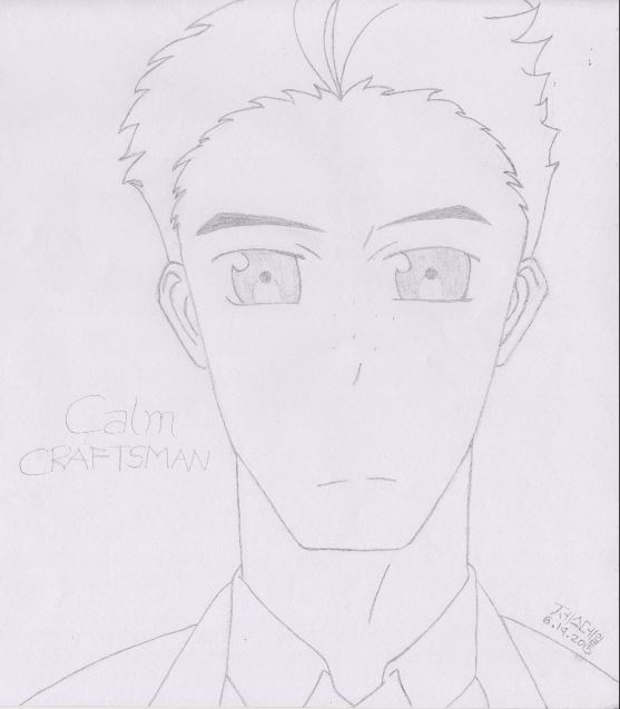 Calm Craftsman from Aldnoah Zero (2015)