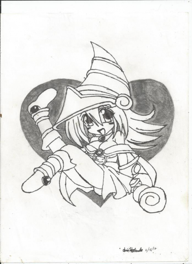 Toon Dark Magician Girl.    hope you like