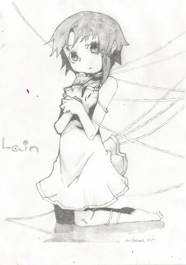 Lain .. one of my fav shows :0  .hope you like