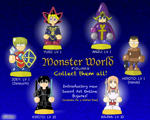 Monster World Figures